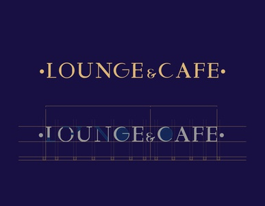 MQ Lounge & cafe logo design lettering type typogaphy typeface saudi egypt illustration icon arab ui branding idea logo design