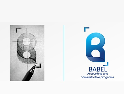 babel logo logo branding idea design