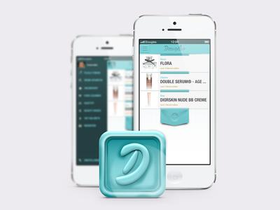 Douglas App | App Icon // Mock Up