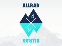 TEAM ALLRAD 4x4 /// Mountain Race Logo