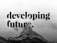 developing future background