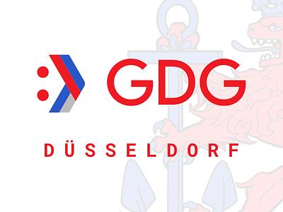 GDG Düsseldorf Logo google developer branding logo