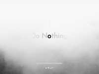 Nothing Is Live #donothing