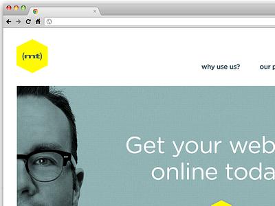 Mediatemple Rebrand clean minimal rebrand bkwld
