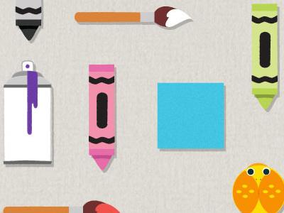 UI Set kids illustration ui bkwld
