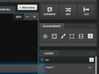 Software Design ui buttons bkwld