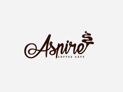 Logo Design For Asnire Cafe