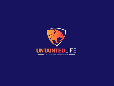 Logo Design For Untainted Life