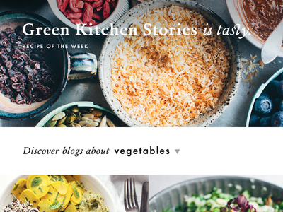 Food Things food blogs list catalogue index tasty plan