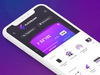 Bank mobile client