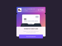 Credit Card Interaction UI