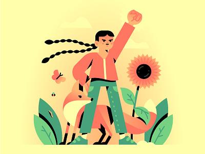 My kind of hero 💪💚 revolution climate change fox enviroment