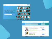 Freelancer Service Web - Design Exploration