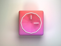 Android Clock Icon App iOS7 Style