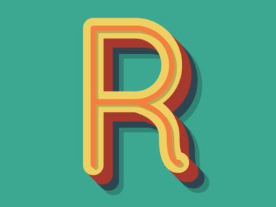 R-Text Effect Illustrator