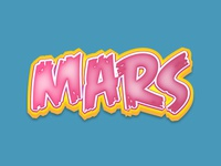 Pink Mars - Illustrator Text Effect pink typography ai colors vector appearance freebie free illustrator effect text font