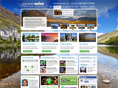 Galway Tour Company private tour ui ireland responsive galway travel tourism