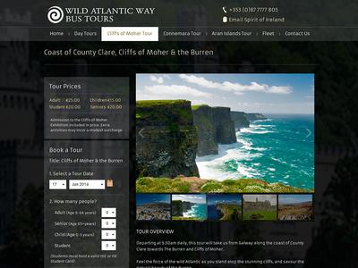 Wild Atlantic Way cliffs of moher black tourism ireland tours