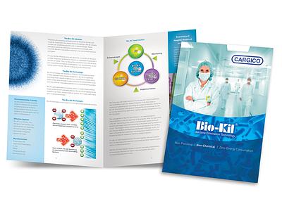 Bio-Kill brochure company brochure medical medical brochure print design brochure