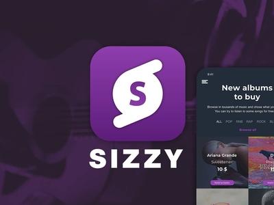 Sizzy - Music App