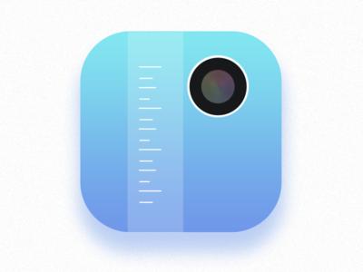 Exact App Icon ruler iphoneapp icon camera