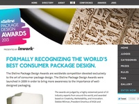 The Dieline Package Design Awards Website