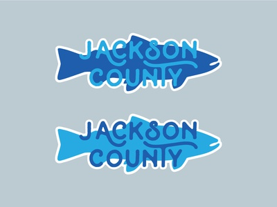 Trout Sticker trout sticker outdoor adventure north carolina county jackson county fish