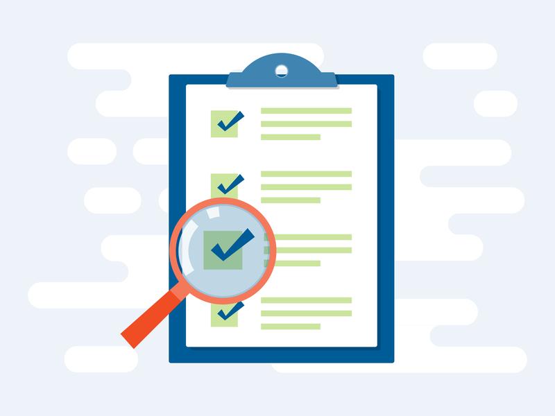 Checklist - Spot Illustration icon set checklist clipboard illustration web illustration graphic icon
