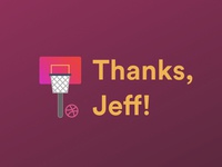 Thanks, Jeff!