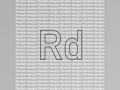 Random Designs design illustration background
