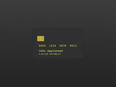 Credit Card design illustration credit card credit