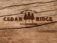 Cedar Ridge Logo concept