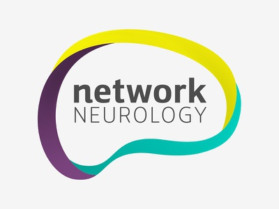 Network Neurology logo concept health mind network neurology brain logo