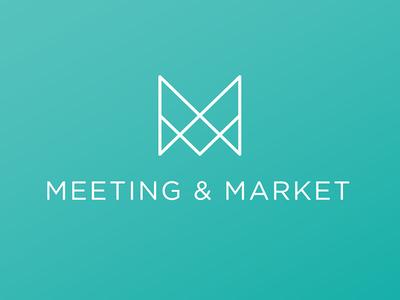 Meeting & Market logo concept