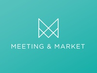 Meeting & Market logo concept