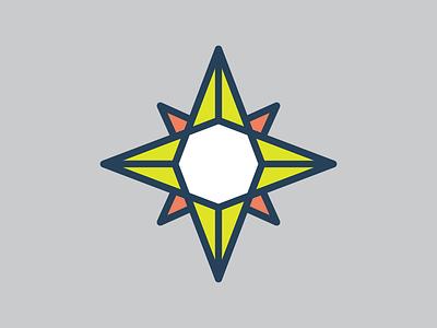 Compass logo directions compass