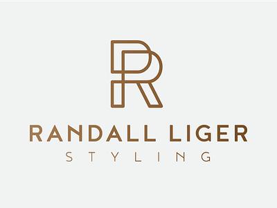 Randall Liger icon r styling gold logo
