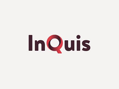 InQuis tech branding gradient logo inquis