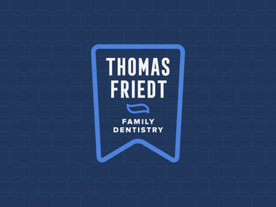 Dentist Logo Concept family pattern branding teeth dentistry floss tooth toothpaste logo dentist