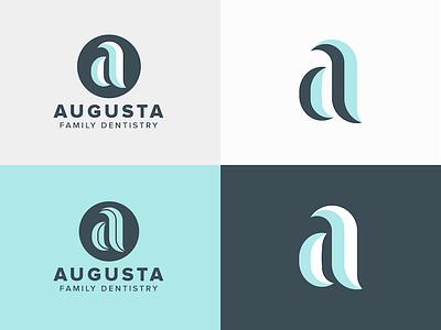 Augusta Dentistry teeth dentistry toothpaste logo dentist