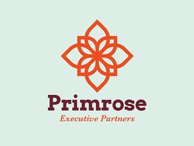 Primrose line flower logo