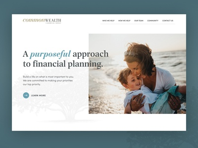 Commonwealth Financial Group website