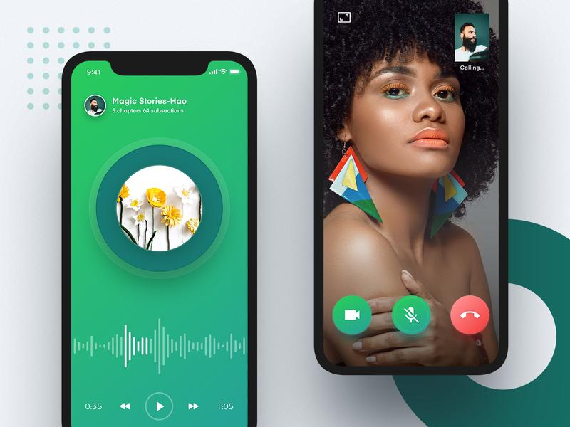 Visual application design ux icon ui app