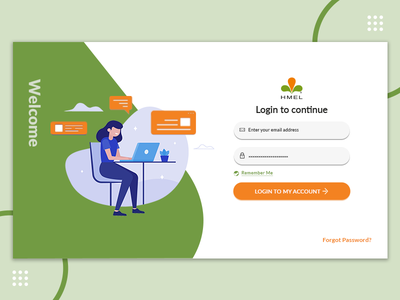 Login Screen illustration vector graphics illustrator ui photoshop