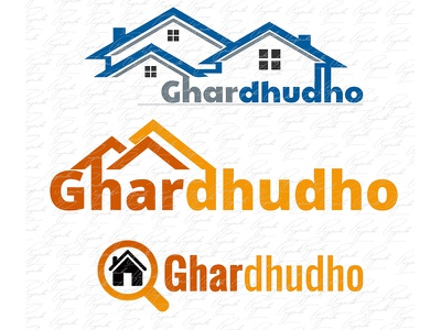 Ghar Sample Logo illustrator photoshop logo design
