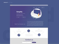 Website - Purple