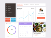 Recipe webapp preview