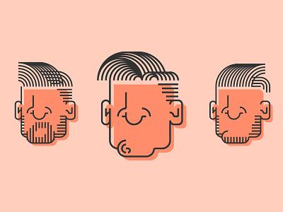 Headshot headshot illustration vectors