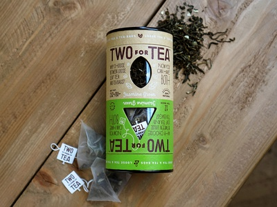 Two for Tea packaging