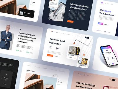 Landing Page - UI Kit product ui kit web design web website homepage landing landing page